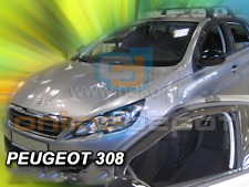 Wind Deflectors PEUGEOT 308 II 5-doors 2013-onwards 2-pc HEKO Tinted