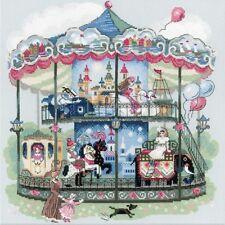 Carousel - Cross Stitch Chart - Free Postage