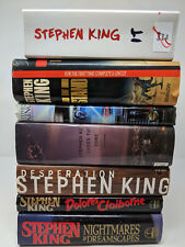 Stephen King Hardcover lot - It, The Stand, Desperation, Nightmares Dreamscapes