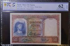 Billete español 500 pesetas 1931 SC
