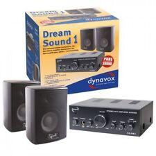 Dynavox Dream Sound, Schwarz, Lautsprecher Amp Kombi Verstärker und Boxen Set