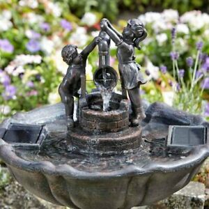 Plastic Resin Unbranded Garden Patio Fountains For Sale Ebay