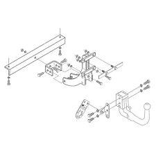 PCT Towbar for Saab 9-3 Saloon 2002-2012 - Detachable Swan Neck Tow Bar
