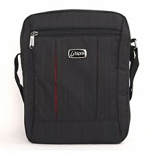 10.2 Inch Netbook Messenger Bag for Tablet, iPad, iPad Mini, DVD Player in Black