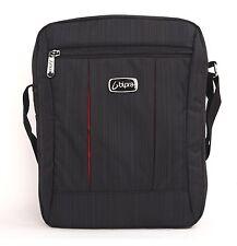 10.2 Pulgadas Mini Laptop Messenger Bag Para Tablet, Ipad, Ipad Mini, Reproductor De Dvd En Negro