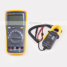 FLUKE 15B+  Digital Multimeter  + MS3302 AC Current Transducer 0.1A-400A Clamp