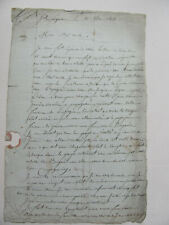 More details for letter from french soldier to uncle views on peninsular war 1808 napoleonic
