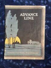 1913 Advance Line Power Farming Machinery Catalog