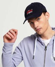 Bnew SUPERDRY Label Twill Baseball Cap, Navy