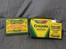 New Crayola Crayons Collectors Limited Edition Tin Box 64 Colors + 8 Retired