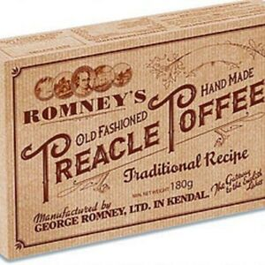 Romney's of Kendal Hand Made Old Fashioned Treacle Toffee  180g Box