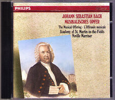 Neville Marriner: Bach vittime musicale musical offering BWV 1079 Iona Brown