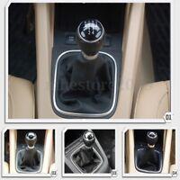 5 Speed Gear Shift Knob Gaiter Gaitor Boot For VW Golf Jetta MK5 MK6  /