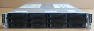 Intel H2312XXKR2 + 4x Server Nodes 8 x 14C E5-2695v3 512GB 2U Rack Server