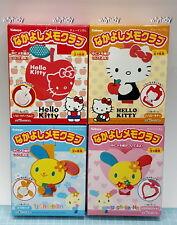 Sanrio Hello Kitty & Usahana Memo With Holder Mascot, 4pcs - Kabaya Rare    ==