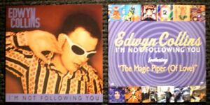 EDWYN COLLINS - I'M NOT FOLLOWING YOU PROMO LP CD RECORD STORE POSTER SET