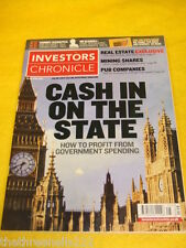 INVESTORS CHRONICLE - PROFIT FROM GOVERNMENT SPENDING - JUNE 22 2007