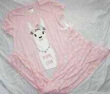 Nwt Women's Pink Llama Bobbie Brooks Pajama Set Joggers & Shirt Pick Size