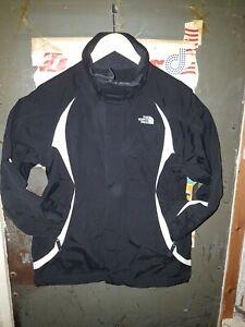 *North Face Ski Jacket  Ladies  Black white  Medium Waterproof & Breathable VGC*