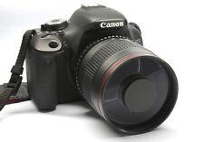 900mm f/8 Telephoto Mirror Lens for Canon 1300D 1200D 1100D 750D 760D 650D 550D