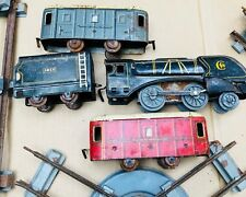 TRAIN MECANIQUE EN TOLE LITHOGRAPHIE JEP
