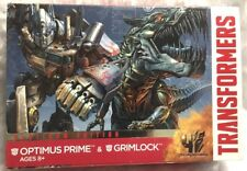 Transformers Platinum Edition Optimus Prime and Grimlock Hasbro