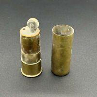Antique ELEY NOBEL Trench Soldier Advertising Shotgun Cartridge Petrol Lighter
