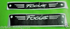 Ford Focus MK 2 & 3 2005 - 2017 Carbon Style Aufkleber 3. Bremsleuchte