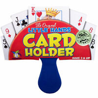 Little Hands Card Holder - Children's Plastic Playing Card Game Holder