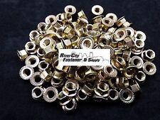 (50) M10-1.25 / 10mm x 1.25 JIS Serrated Hex Flange Nuts J.I.S 14mm Hex