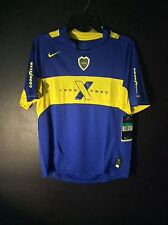 New Vintage Nike Youth M (12) CABJ Boca Juniors Home Soccer Jersey 1995-2005