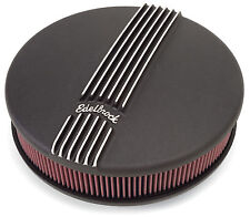 """Edelbrock 41173 Classic Series Air Cleaner Assembly 14"""" x 4"""""""