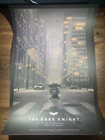 Batman Dark Knight Art Print Poster Variant Nicholas Moegly SIGNED AP Mondo BNG