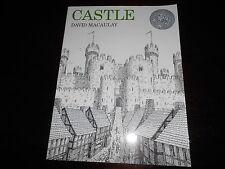 Castle by David MacAulay homeschooling Sonlight MFW Caldecott Honor AR level 7.9