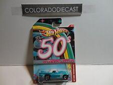 Hot Wheels Cars of the Decades Blue '57 Ford Thunderbird