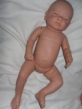 Traumdolls Baby Puppe Newborn 53 cm Vollvinyl  Mädchen Spielpuppe Babypuppen