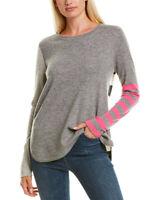 Lisa Todd Pop Rocks Cashmere Sweater Women's Grey L