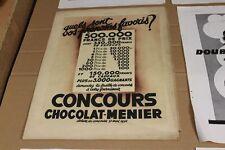 10 x alte Reklame auf Papier 5 - aus französischer Zeitung - 1930er J.    /S44