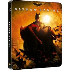 Batman Begins (Blu-ray Disc, 2012, Ultraviolet) Steelbook NEW
