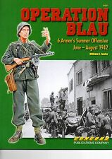 CONCORD 6531  OPERATION BLAU  6.Armee Summer Offensive June-August 1942