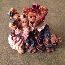 Retired Boyds Bear Resin Figurine Louella/Hedda The Secret 1E 1997 New #227705Rs