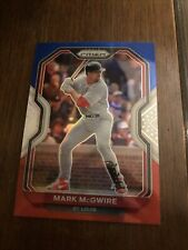 New listing Mark McGwire panini prizm Res White Blue Parallel