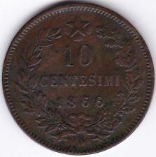 1866N Italy 10 Centesimi***Collectors***