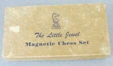 Vintage DRUEKE 'The Little Jewel' MAGNETIC CHESS SET No. 90010 in ORIGINAL BOX