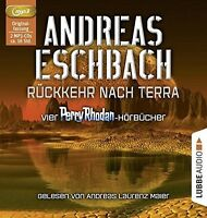 ANDREAS ESCHBACH-RÜCKKEHR NACH TERRA: VIER PERRY RHODAN-HÖRBÜCHER  2 MP3 CD NEU