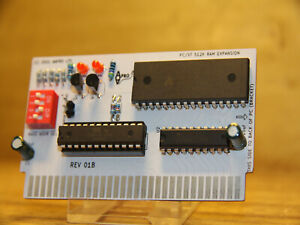 BRAND NEW ISA PC / XT 512K RAM EXPANSION FOR RETRO VINTAGE COMPUTERS - UK SELLER