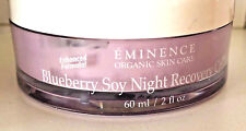 Eminence Blueberry Soy Night Recovery Cream  2 oz  NEW~ FREE SHIP