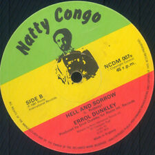 ERROL DUNKLEY - HELL AND SORROW (NATTY CONGO 12')