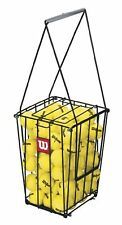 Wilson 75 Tennis Ball Pick Up Hopper Stand, Training Basket,tennis Ball Basket