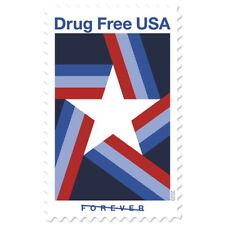USPS New USA Drug Free Pane of 20
